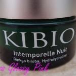 J'ai testé : la crème intemporelle nuit de Kibio