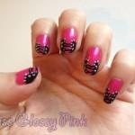 Nail art «Corset» by Lovingnails