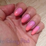 Gradient nails : Pardon my french & Reign in Spain !