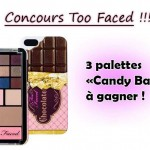 [Concours] 3 palettes « Candy Bar » Too Faced à gagner ! [CLOS]