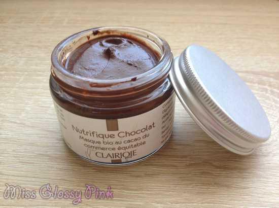 avis masque nutrifique chocolat clairjoie
