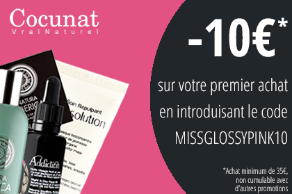 Banner 10€ MISSGLOSSYPINK10